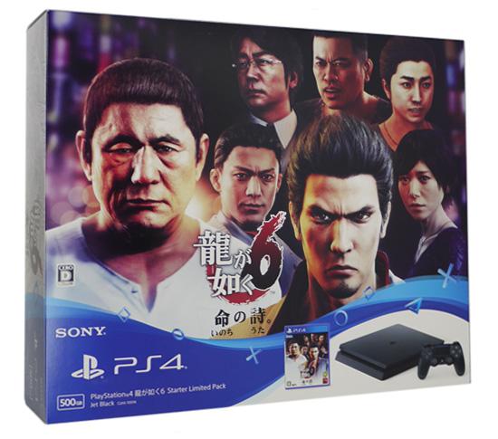 プレイステーション4 HDD 500GB 龍が如く6 Starter Limited Pack ジェット・ブラック CUHJ-10014