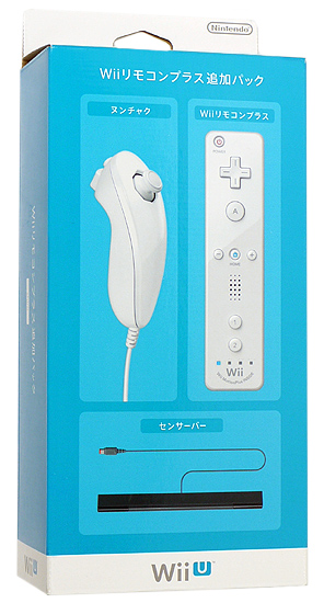 Wiiリモコンプラス 追加パック RVL-A-AS02 [shiro]