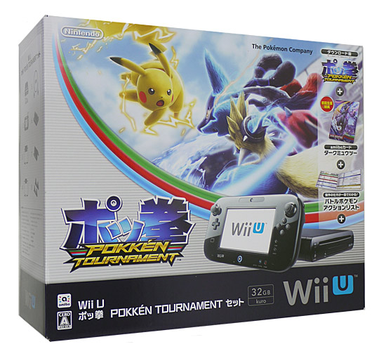 Wii U ポッ拳 POKKEN TOURNAMENT セット