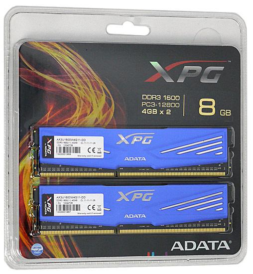 AX3U1600W4G11-DD [DDR3 PC3-12800 4GB 2���g] ���i�摜