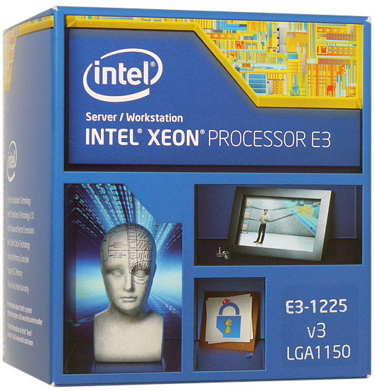Xeon E3-1225 v3 BOX