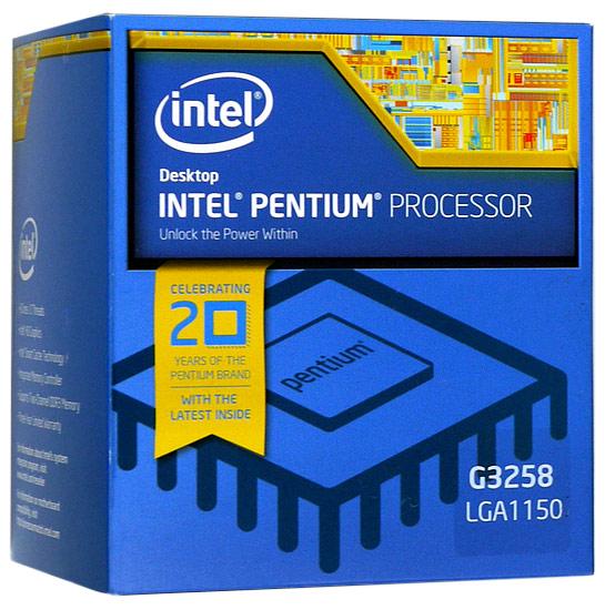 Pentium Dual-Core G3258 BOX