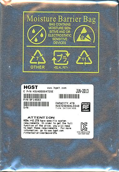 HUS724040ALE640 [4TB SATA600 7200]