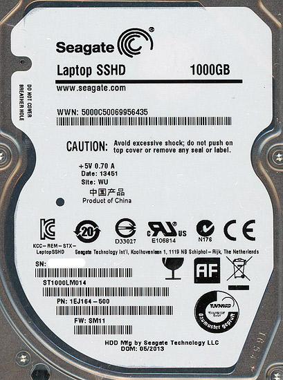 SEAGATE ST1000LM014 [1TB 9.5mm]