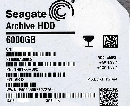 ST6000AS0002 [6TB SATA600]