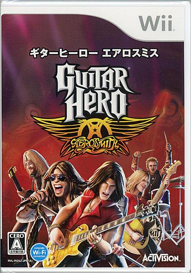 ギター ヒーロー エアロスミス(ソフト単体版)(Wii)