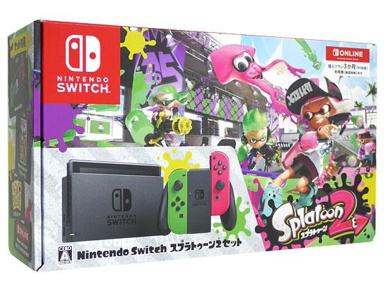 Nintendo Switch スプラトゥーン2セット 個人プラン3か月(90日間)利用券付