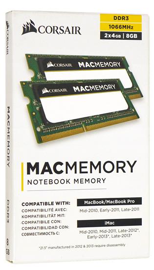 CMSA8GX3M2A1066C7 [SODIMM DDR3 PC3-8500 4GB 2枚組 Mac]