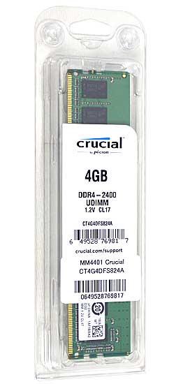 CT4G4DFS824A [DDR4 PC4-19200 4GB]
