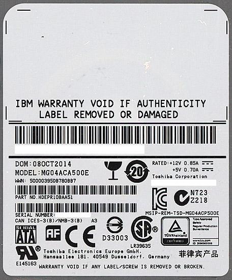 MG04ACA500E [5TB SATA600 7200]