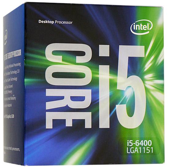 Core i5 6400 BOX