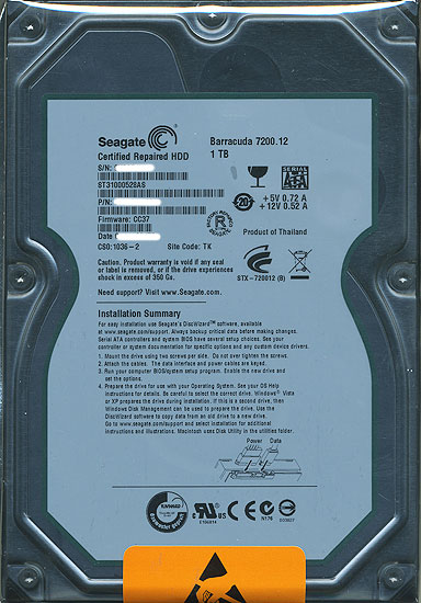 ST31000528AS (1TB SATA300 7200)