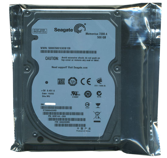 ST9500420AS (500GB 9.5mm)