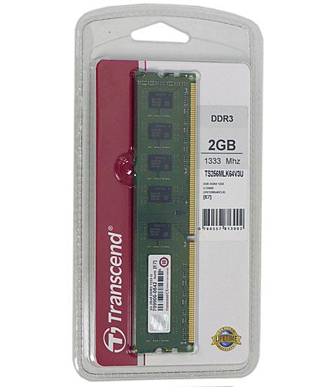 TS256MLK64V3U (DDR3 PC3-10600 2GB)
