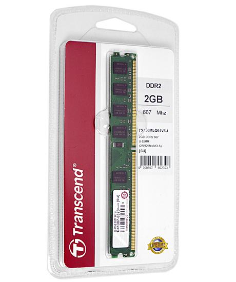 TS256MLQ64V6U (DDR2 PC2-5300 2GB)