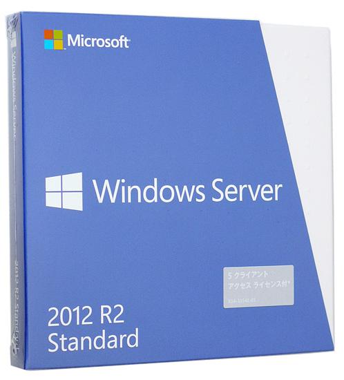 Windows Server 2012 R2 Standard 日本語版 5CAL付